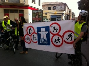 rue St Louis vélocité