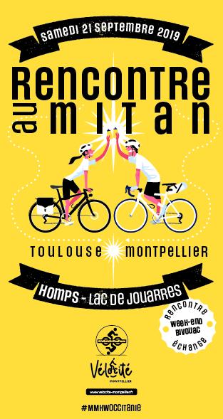 Rencontre au Mitan; lieu: de Montpellier à Homps dans l'Aude
