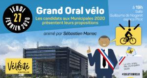 Grand Oral Vélo; lieu: Salle Guillaume de Nogaret, Espace Pitot