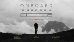 "Projection du film ""Onboard"" sur la Transcontinental Race; lieu: Cinéma le Diagnoal"