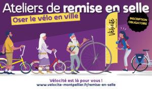 """Atelier de remise en selle - """"Oser le vélo en ville !"""""""