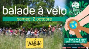 Balade Vélocité Le Monde Nouveau.